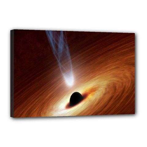 Coming Supermassive Black Hole Century Canvas 18  X 12