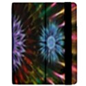 Flower Stigma Colorful Rainbow Animation Gold Space Apple iPad 3/4 Flip Case View2