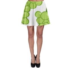Fruit Green Grape Skater Skirt