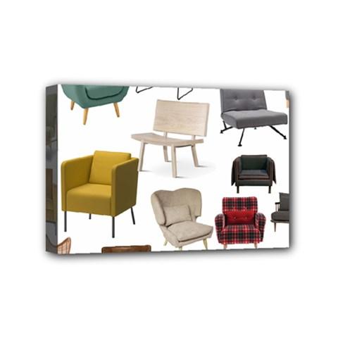 Furnitur Chair Mini Canvas 6  X 4