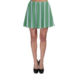 Green Line Vertical Skater Skirt