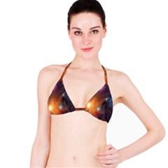 Galaxy Space Star Light Bikini Top