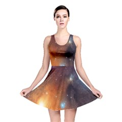 Galaxy Space Star Light Reversible Skater Dress