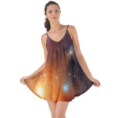 Galaxy Space Star Light Love The Sun Cover Up