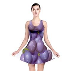 Grape Fruit Reversible Skater Dress