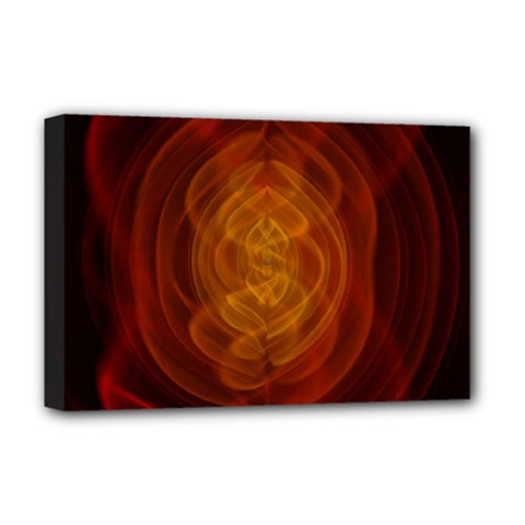 High Res Nostars Orange Gold Deluxe Canvas 18  X 12