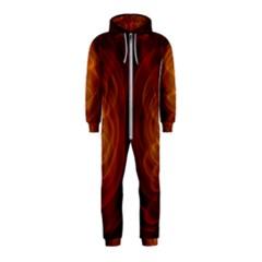 High Res Nostars Orange Gold Hooded Jumpsuit (kids)