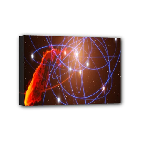 Highest Resolution Version Space Net Mini Canvas 6  X 4