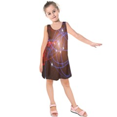 Highest Resolution Version Space Net Kids  Sleeveless Dress