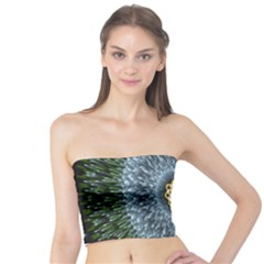 Hipnotic Star Space White Green Tube Top