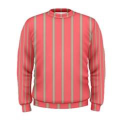 Line Red Grey Vertical Men s Sweatshirt