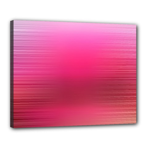 Line Pink Space Sexy Rainbow Canvas 20  X 16