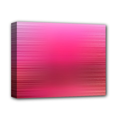 Line Pink Space Sexy Rainbow Deluxe Canvas 14  X 11