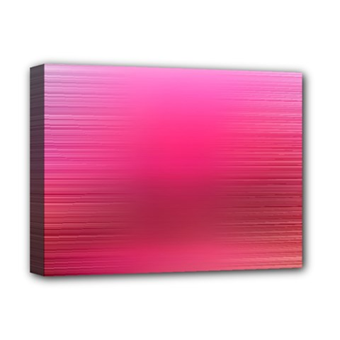 Line Pink Space Sexy Rainbow Deluxe Canvas 16  X 12