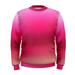Line Pink Space Sexy Rainbow Men s Sweatshirt