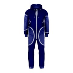 Moon July Blue Space Hooded Jumpsuit (kids)