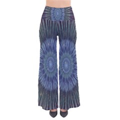 Peaceful Flower Formation Sparkling Space Pants