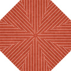 Line Vertical Orange Straight Umbrellas