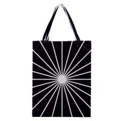 Ray White Black Line Space Classic Tote Bag