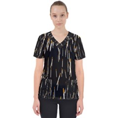 Rain Cigarettes Transparent Background Motion Angle Scrub Top