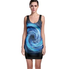 Hole Space Galaxy Star Planet Bodycon Dress
