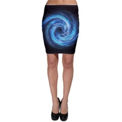 Hole Space Galaxy Star Planet Bodycon Skirt