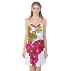 Red Fruit Grape Camis Nightgown