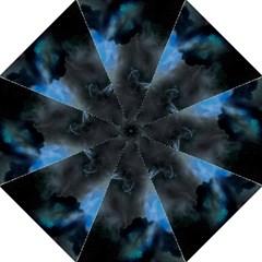 Space Star Blue Sky Golf Umbrellas