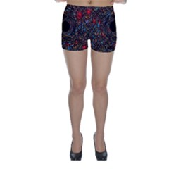 Space Star Light Black Hole Skinny Shorts