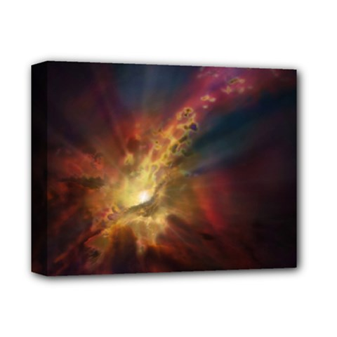Sun Light Galaxy Deluxe Canvas 14  X 11