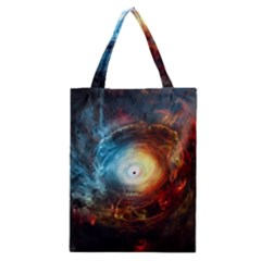 Supermassive Black Hole Galaxy Is Hidden Behind Worldwide Network Classic Tote Bag