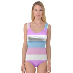 Big Stripes Princess Tank Leotard