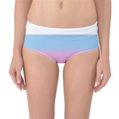 Big Stripes Mid Waist Bikini Bottoms