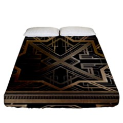 Art Nouveau Fitted Sheet (king Size)
