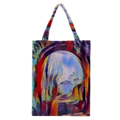Abstract Tunnel Classic Tote Bag
