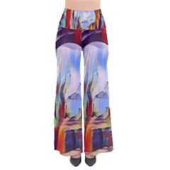 Abstract Tunnel Pants