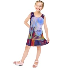 Abstract Tunnel Kids  Tunic Dress