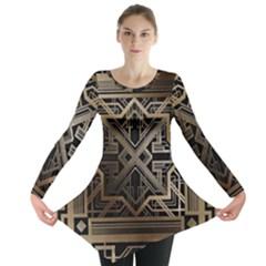 Art Nouveau Long Sleeve Tunic