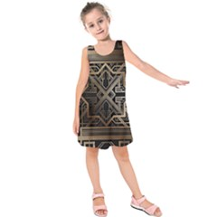 Art Nouveau Kids  Sleeveless Dress