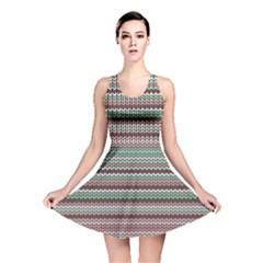 Winter Pattern 3 Reversible Skater Dress