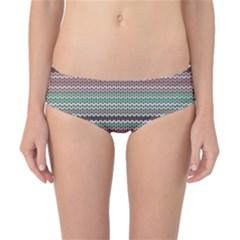 Winter Pattern 3 Classic Bikini Bottoms