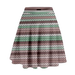 Winter Pattern 3 High Waist Skirt