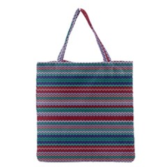 Winter Pattern 4 Grocery Tote Bag