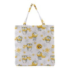 Winter Pattern 6 Grocery Tote Bag