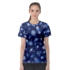 Winter Pattern 8 Women s Sport Mesh Tee