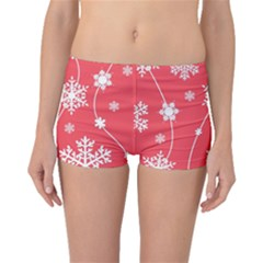 Winter Pattern 9 Boyleg Bikini Bottoms