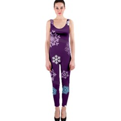 Winter Pattern 10 Onepiece Catsuit