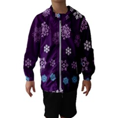 Winter Pattern 10 Hooded Wind Breaker (kids)