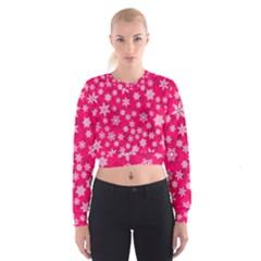 Winter Pattern 13 Cropped Sweatshirt