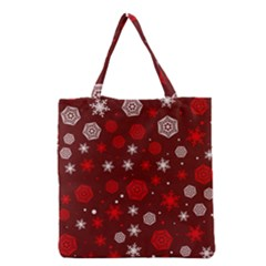 Winter Pattern 14 Grocery Tote Bag